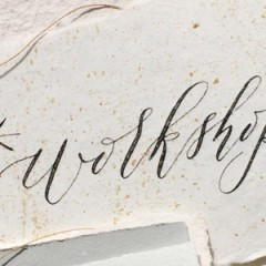 Winter Workshops: Tea Sampling x Modern Western Calligraphy