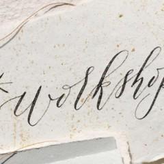 Winter Workshops: Tea Sampling x Modern Western Calligraphy