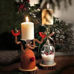 聖誕蠟燭台工作坊 (親子篇)
