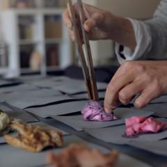 茶話 The Language of Tea 茶染工作坊 Tea-dye Workshop