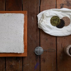茶話 The Language of Tea 茶紙製作工作坊 Paper-making Workshop