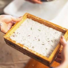 社區資源循環系列 – 共嘗金普茶。再造紙
