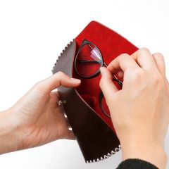 縫紉皮革眼鏡套工作坊