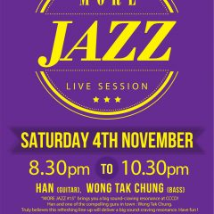 MORE JAZZ #15 HAN x WONG TAK CHUNG Jazz Duo