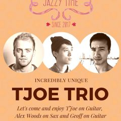 JAZZY TIME Episode#1 Tjoe Trio