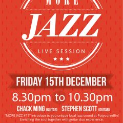 MORE JAZZ #17 CHACK MING X Stephen Scott Guitar Duo