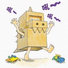 「聖誕恐龍派禮物」紙箱回收及再造工作坊
