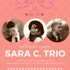 JAZZY TIME Episode#6 Sara C. Trio