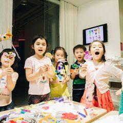 兒童視藝課程:立體派的布藝拼貼