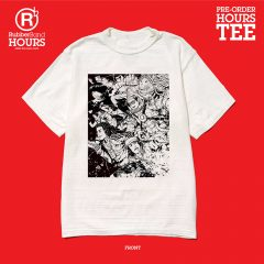 RubberBand HOURS 紀念Tee 及 A-H 專輯紀念Tee