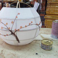 Hand-painted Lampshade Paper Craft Workshop 手繪和氏燈罩紮作班