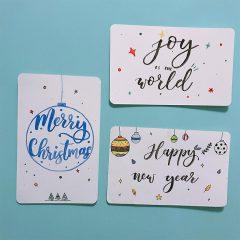 我們正在 聖誕市集 2018 | 聖誕西洋書法體驗班 | CmyCalligraphy