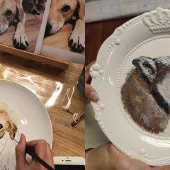 藝術家的下午茶 X 寵物陶瓷畫工作坊
