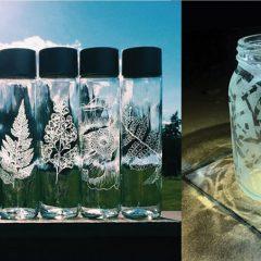 玻璃瓶 X 蝕刻槳 X 家居裝飾工作坊