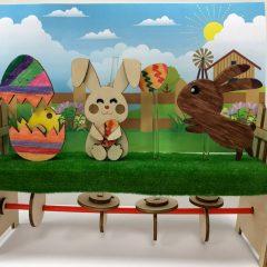 復活節木製自動機玩具工作坊