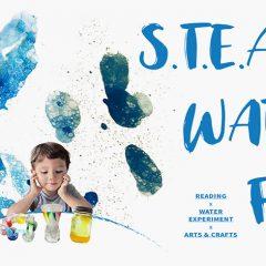 小朋友STEAM大冒險︰結合藝術和科學的趣味「水之旅」!