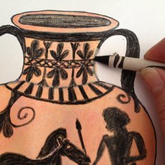 兒童色彩文化課程 | 淺褐色 – 古希臘花瓶工作坊