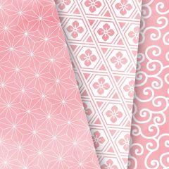 兒童色彩文化課程 | 粉紅色 – 日本風格圖案模板畫工作坊