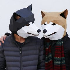 3D動物系列面具製作工作坊 3D Animal Series Paper Face Mask Workshop