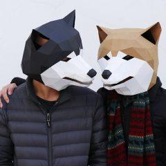 3D動物系列面具製作工作坊 3D Animal Series Paper Face Mask Workshop