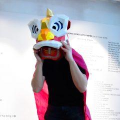 3D舞獅面具製作工作坊 3D Lion Dance Paper Face Mask Workshop