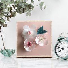 個人化紙花藝術體驗班 Customised Paper Flower Art Trial