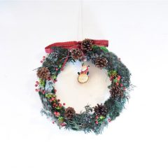 聖誕檞寄生花圈工作坊 Christmas Wreath (Mistletoe) Workshop