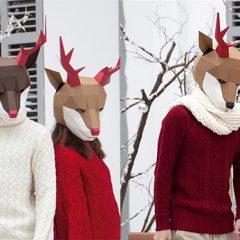 親子立體紙藝工作坊 - 聖誕馴鹿篇 Reindeer Paper Mask Crafting Workshop