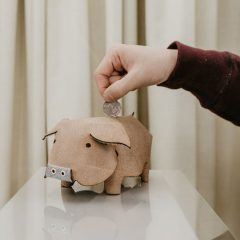 豬籠入水環保皮錢罌DIY套裝 Upcycled Leather Piggy Bank DIY Kit