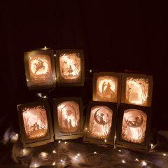 光影故事迷你紙雕小夜燈網上工作坊 Little Paper Art Night Lamp Online Workshop